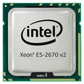 2.50GHz IBM Intel Xeon E5-2670 v2 10-Core 25MB LGA2011 Processor Upgrade For IBM x3650 M4 46W4369