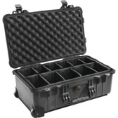 PELICAN 1510-004-110 1510 Carry-On Case (Padded Divider)