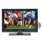 Supersonic 22 LED HDTV with DVD, USB/SD, HDMI INPUTS