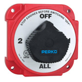 Perko Heavy Duty Battery Selector Switch w/Alternator Field Disconnect