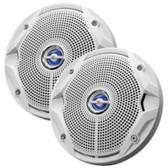 JBL MS6520 180W, 6.5 Coaxial Marine Speakers - (Pair) White