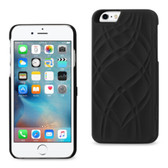 Reiko Iphone 6/6S 4.7Inch Hidden Mirror Protector Cover With Card Slots & Kickstand Function Black