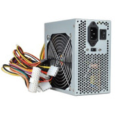 Logisys 550W 20+4-pin ATX Power Supply w/SATA & Large 120mm Ball Bearing Cooling Fan for Quiet Performance