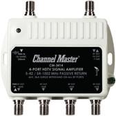 CHANNEL MASTER CM-3414 Ultra Mini Distribution Amp (4 Port)