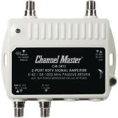 CHANNEL MASTER CM-3412 Ultra Mini Distribution Amp (2 Port)