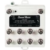 CHANNEL MASTER CM-3418 Ultra Mini Distribution Amp (8 Port)