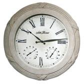 Seth Thomas Polyfiber Solar Clock - WWH009179-RB