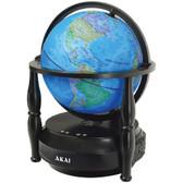 AKAI GL703-BT Globe Bluetooth(R) Speaker (Blue)