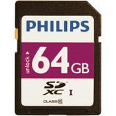 PHILIPS FM64SD55B/27 64GB Class 10 SDXC(TM) Card