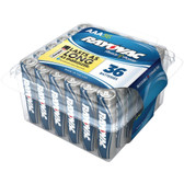 RAYOVAC 824-36PPF Alkaline Batteries Reclosable Pro Pack (AAA, 36 pk) - RVC82436PPJ