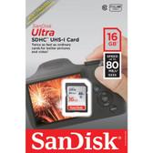 SANDISK SDSDUNC-016G-AN6IN Ultra SDHC(TM) Memory Card (16GB)