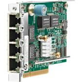HP 331FLR GigaBit Ethernet Card PCI Express x4 4-Ports 10/100/1000Base-T Internal 629135-B22