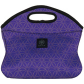 GAIAM 31573 Purple Flower of Life Lunch Clutch