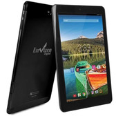 Envizen EVT10Q Quad-Core 1.2GHz 1GB 32GB 10.1 IPS Touchscreen 3G Tablet Android 4.4 w/Cams (Black) (T-Mobile)