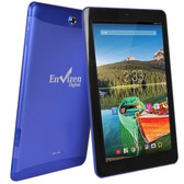 Envizen EVT10Q Quad-Core 1.2GHz 1GB 16GB 10.1 IPS Touchscreen 3G Tablet Android 4.4 w/Cams (Blue) (T-Mobile)