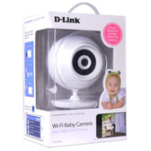 D-Link DCS-820L Wireless Security/BabyCam - 2-way Audio Night Vision  Apple iOS/Android App & Remote PC Browser Access - DCS-820L