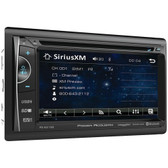 POWER ACOUSTIK PD-621XB 6.2 Incite Double-DIN In-Dash LCD Touchscreen DVD Receiver with Bluetooth(R) & SiriusXM(R) Ready