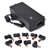 Targus APA731USO 90W Universal Notebook AC Power Adapter w/9 Power Tips for Acer HP Dell Lenovo Toshiba & More - APA731USO-FB-R