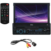 BOSS BVB9967RC 7 Single-DIN In-Dash Motorized DVD/MP3/CD & AM/FM Receiver with Bluetooth(R) & Rear Camera
