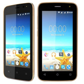 Maxwest Nitro 4 4G 4 Touch Quad-Core 1.2GHz 512MB 4GB Unlocked Quad Band GSM Dual-SIM Smartphone Android 5.1 (Gold)