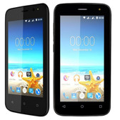 Maxwest Nitro 4 4G 4 Touch Quad-Core 1.2GHz 512MB 4GB Unlocked Quad Band GSM Dual-SIM Smartphone Android 5.1 (Black)