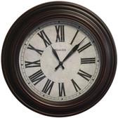 WESTCLOX 32213VBR-20 20 Round Roman Numeral Wall Clock