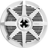 BOSS AUDIO MR62W 2-Way Full-Range Marine Speakers (6.5, White)