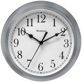 WESTCLOX 46984A 9 Decorative Wall Clock (Gray)