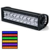 Rogue 4 Delta Series 10 RGB Light Bar - Combo Beam - Black