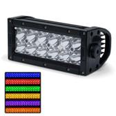 Rogue 4 Delta Series 6 RGB Light Bar - Combo Beam - Black