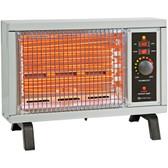 COMFORT ZONE CZ550 1,500-Watt Radiant Electric Heater