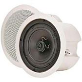 Speco SP-6ECS Speaker - 35 W RMS - 2-way - 2 Pack - 65 Hz to 20 kHz - 8 Ohm - 9.50