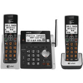 ATT ATTCL83213 Cordless Answering System with Dual Caller ID/Call Waiting (2-handset system)
