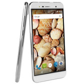 Maxwest Nitro 55M 4G 5.5 Touch Unlocked Quad Band GSM/WDCMA Dual-SIM Quad-Core 1.3GHz Smartphone Android 6.0 (White)