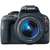 Canon EOS Rebel 8575B003 SL1 18.0 Megapixels Digital SLR Camera - 3x Optical Zoom - 3-inch LCD Display - Black - 8575B003