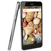Maxwest Nitro 55M 4G 5.5 Touch Unlocked Quad Band GSM/WDCMA Dual-SIM Quad-Core 1.3GHz Smartphone Android 6.0 (Black)