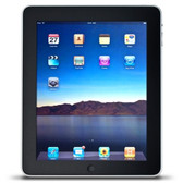 Apple iPad with Wi-Fi 16GB - Black (1st generation) - IPAD-16GB-BLK-3RCC - BVBVBVEVTK-IPAD-16GB-BLK-3RCC