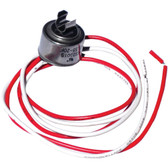 NAPCO CL60 Universal Refrigerator Defrost Thermostat with Clips (60deg )