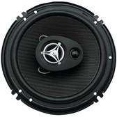 POWER ACOUSTIK EF-653 Edge Series Coaxial Speakers (6.5, 3 Way, 400 Watts max)