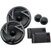 POWER ACOUSTIK EF-60C Edge Series 6.5 500-Watt 2-Way Component Speaker System