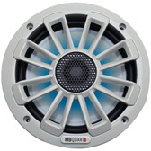 MB Quart NK1-116L Nautic Series 6.5 120-Watt 2-Way Coaxial Speaker System (With LED Illumination)