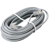 Steren 314-007SL Phone Cable - for Phone - 7 ft - Silver