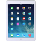 Apple iPad Air with Wi-Fi + Cellular 32GB - White & Silver - AT&T - MF529LLA-PB-RCC - BVBVBVEVTK-MF529LLA-PB-RCC