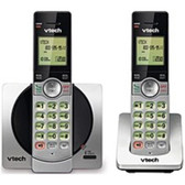 VTech CS6919-2 DECT 6.0 Cordless Phone with 2 Handset - Silver - CS6919-2 - BVBVBVTFL-CS6919-2-FACTORY-SEALED