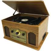 STUDEBAKER SB6080 5-in-1 Stereo Music System (Wooden Grain)