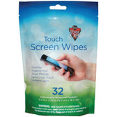 Dust Off DTSW32 Touchscreen Wipes (32-ct)