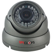 SPYCLOPS SPY-DOMEGAHD1 720p AHD Varifocal Dome Camera (Gray)