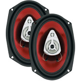 BOSS AUDIO CH6930 Chaos Series Speakers (6 x 9, 400 Watts)