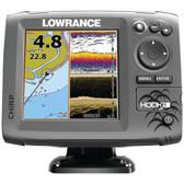 LOWRANCE 000-12656-001 Hook-5 Mid/High/DownScan(TM) Fishfinder