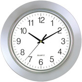 TIMEKEEPER 6450 13 Chrome Bezel Round Wall Clock